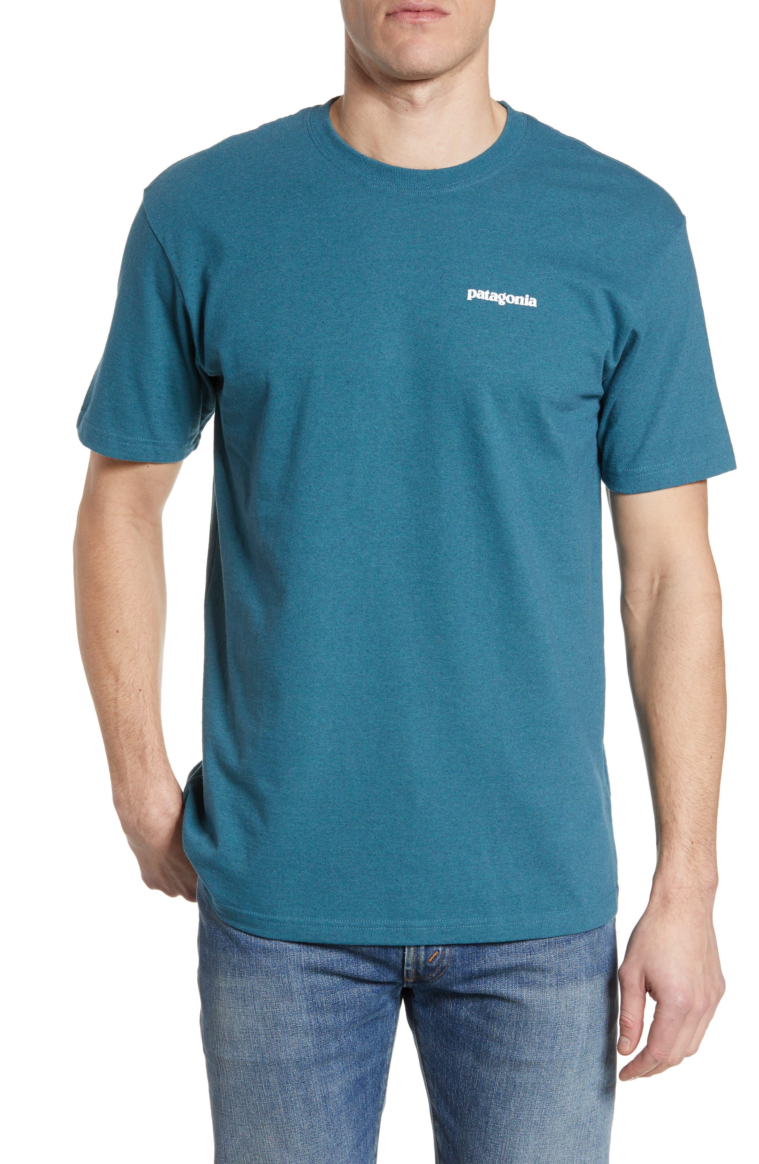 Patagonia Responsibili-Tee T-Shirt, Blue/green