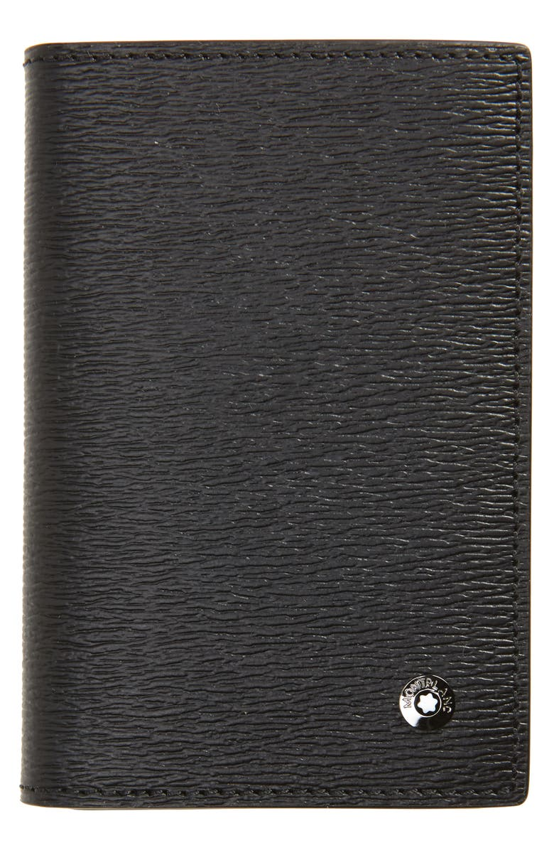 MONTBLANC Westside Leather Wallet, Main, color, BLACK