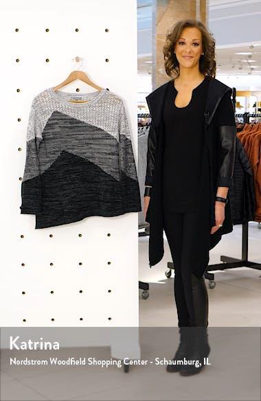 Asymmetrical Colorblock Sweater, sales video thumbnail