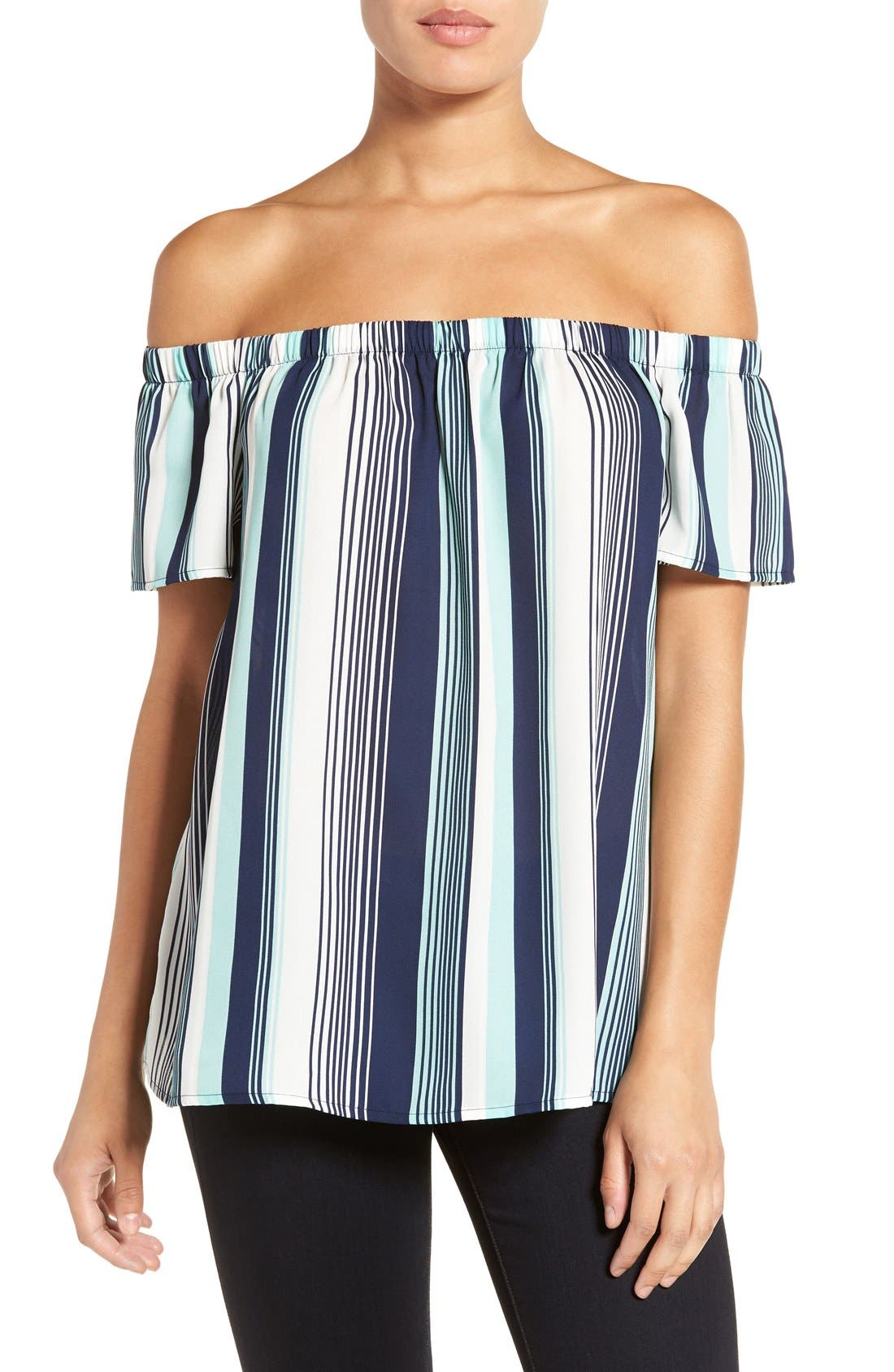 ,                             Off the Shoulder Top,                             Main thumbnail 23, color,                             376