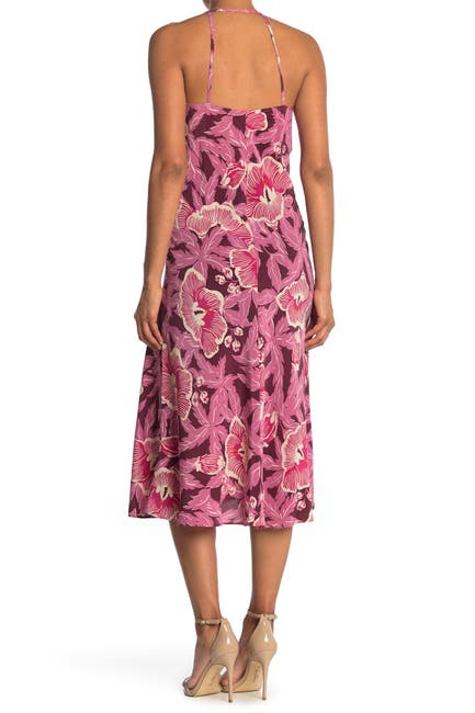 Image of Equipment Allianna Floral Midi Dress