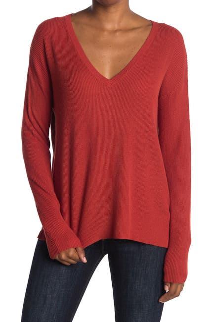Image of Abound Lightweight V-Neck Dolman Sweater