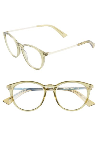 The Book Club NIGHT TEAM CRAZY FOR 49MM READING GLASSES - CRYSTAL OLIVE