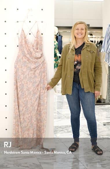 The Allison Faux Wrap Gown, sales video thumbnail