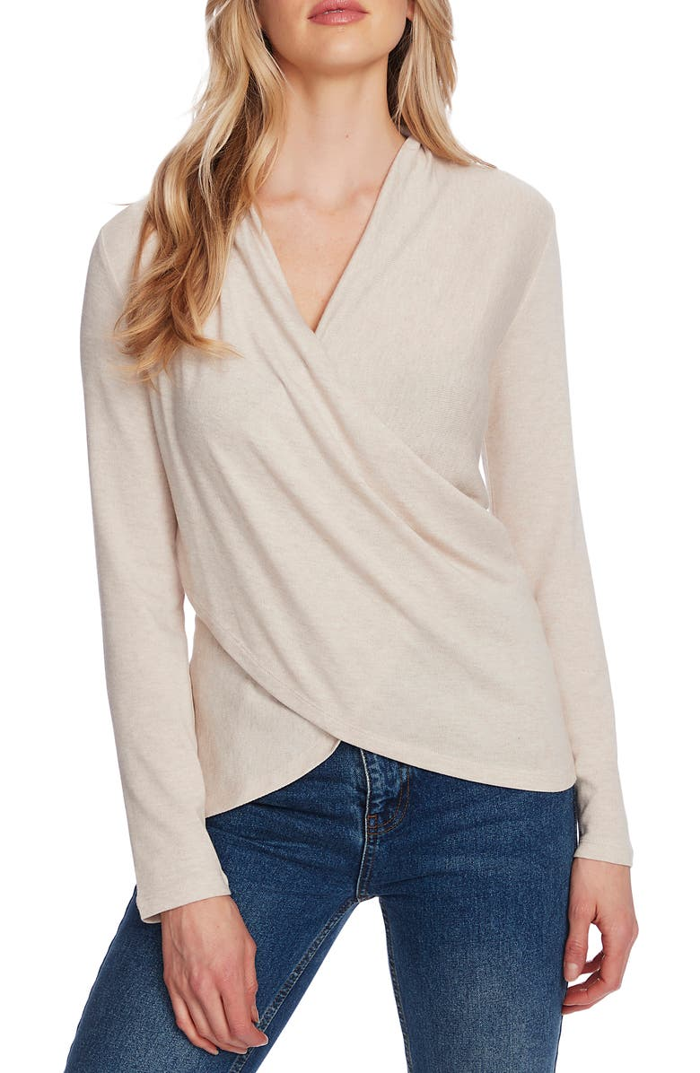 1.STATE x Jaime Shrayber Cozy Knit Top, Main, color, SOFT BEIGE