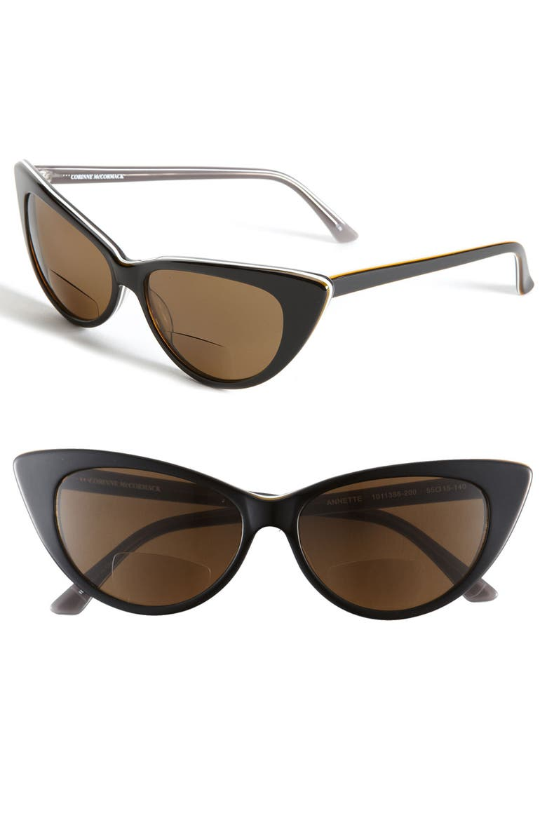 CORINNE MCCORMACK Reading Sunglasses, Main, color, 001