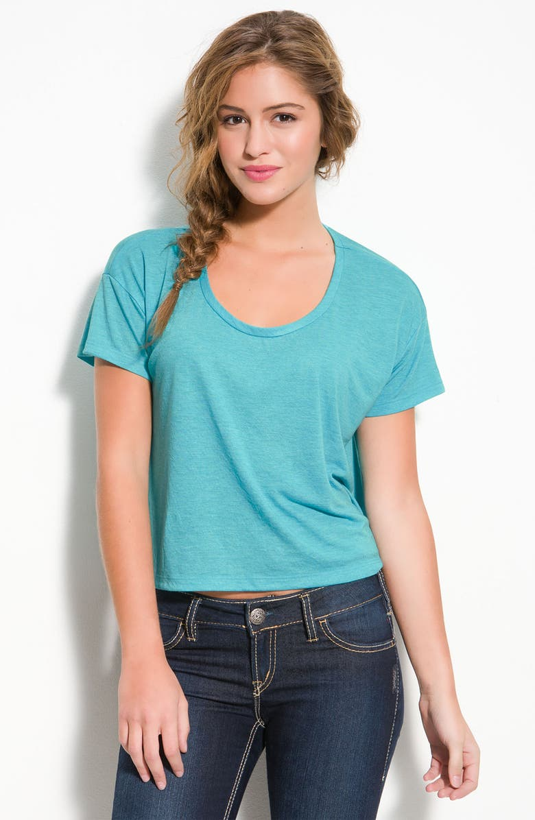 FRENCHI <sup>®</sup> Scoop Neck Boxy Tee, Main, color, 310