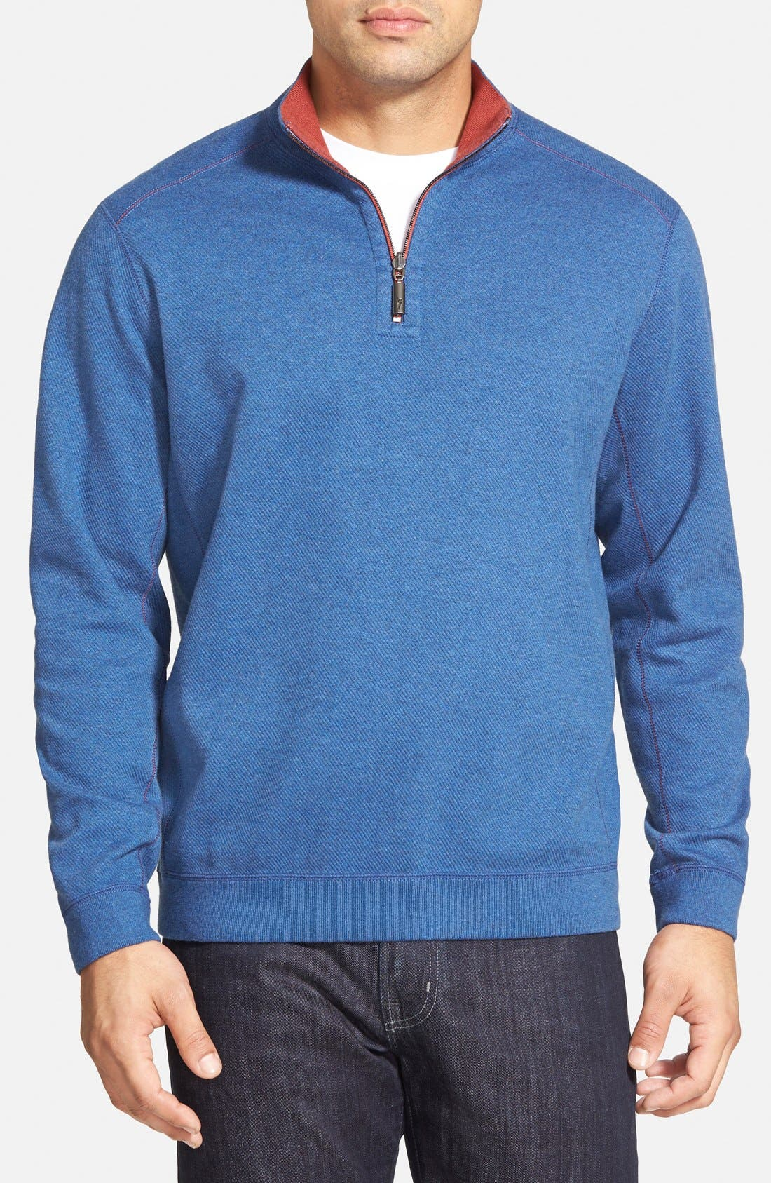 ,                             'Flip Side' Reversible Quarter Zip Pullover,                             Main thumbnail 66, color,                             402