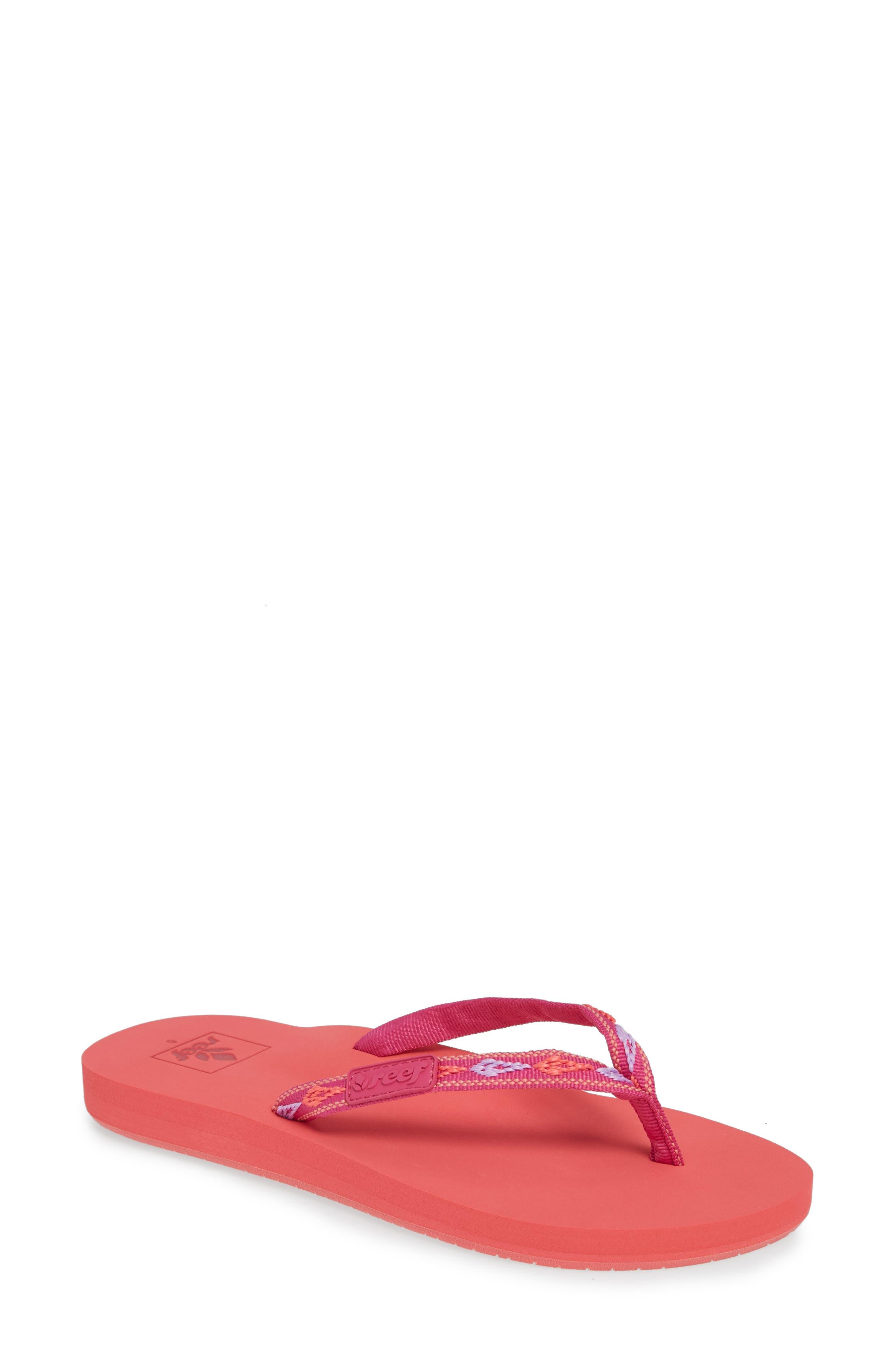Reef Ginger Flip Flop, Pink