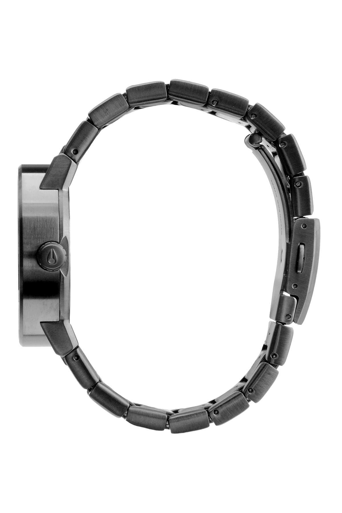 Image of Nixon Men's Cannon Quartz Bracelet Watch, 39.mm