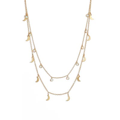 Mad Jewels Stellar Double Strand Necklace