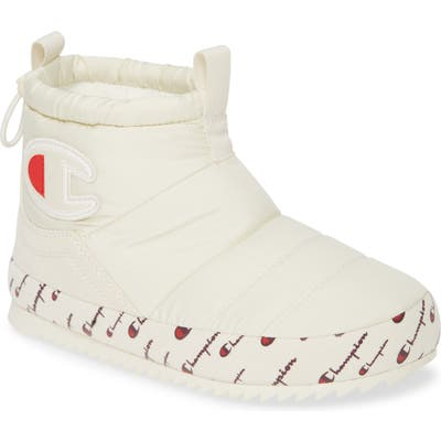 Champion Rally Faux Fur Lined Bootie, White