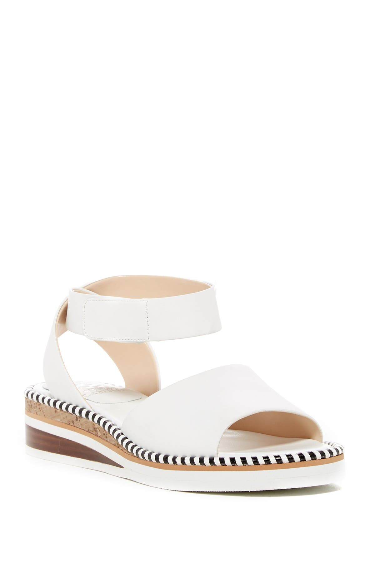 Image of Vince Camuto Mariena Leather Wedge