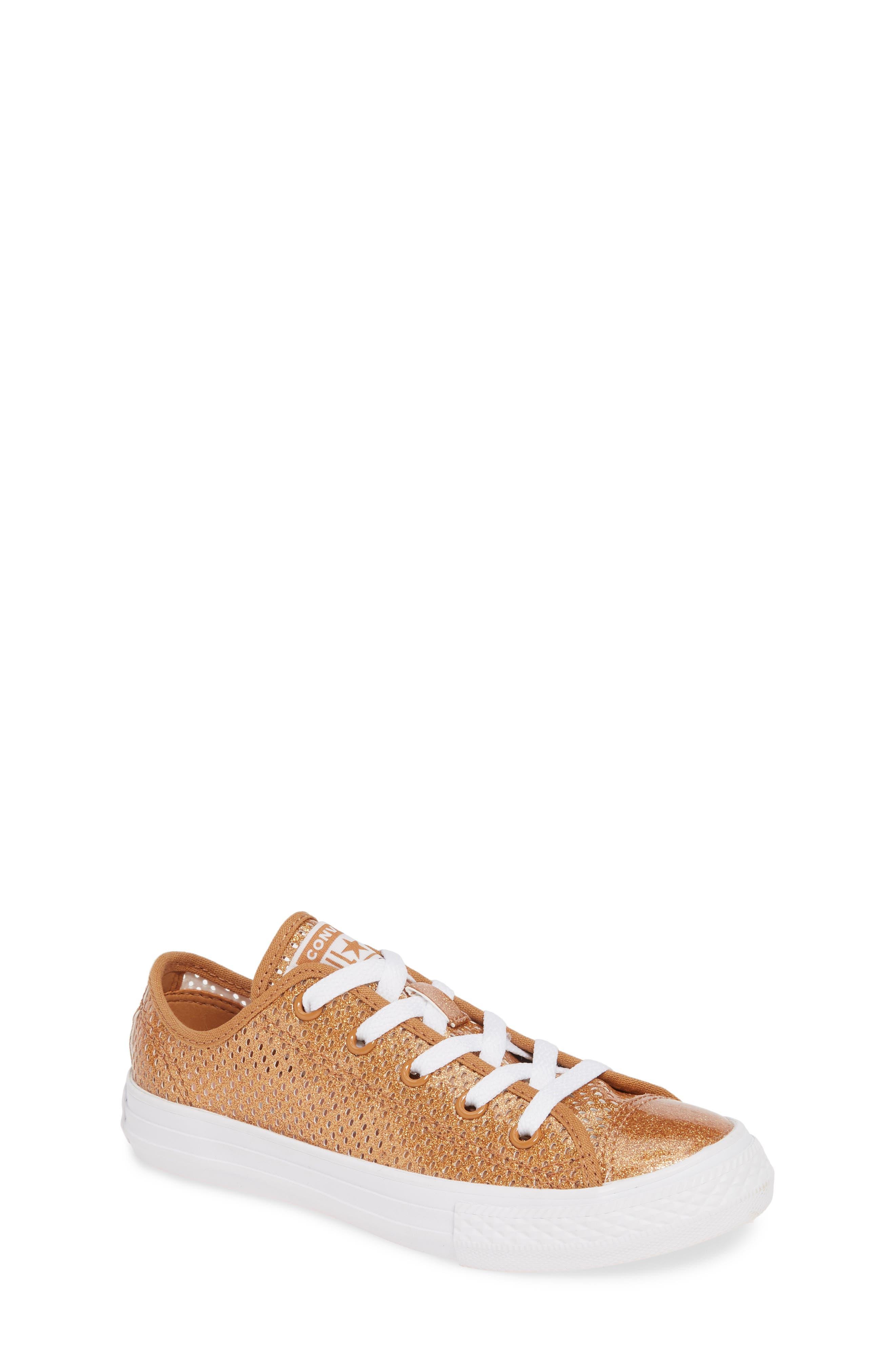 Converse Chuck Taylor All Star Glitter Mesh Low Top Sneaker