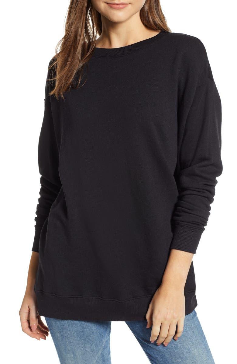 WILDFOX Roadtrip Sweatshirt, Main, color, 001