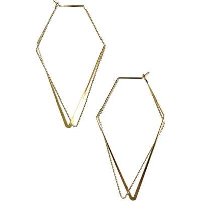 Jules Smith Geometry Hoop Earrings