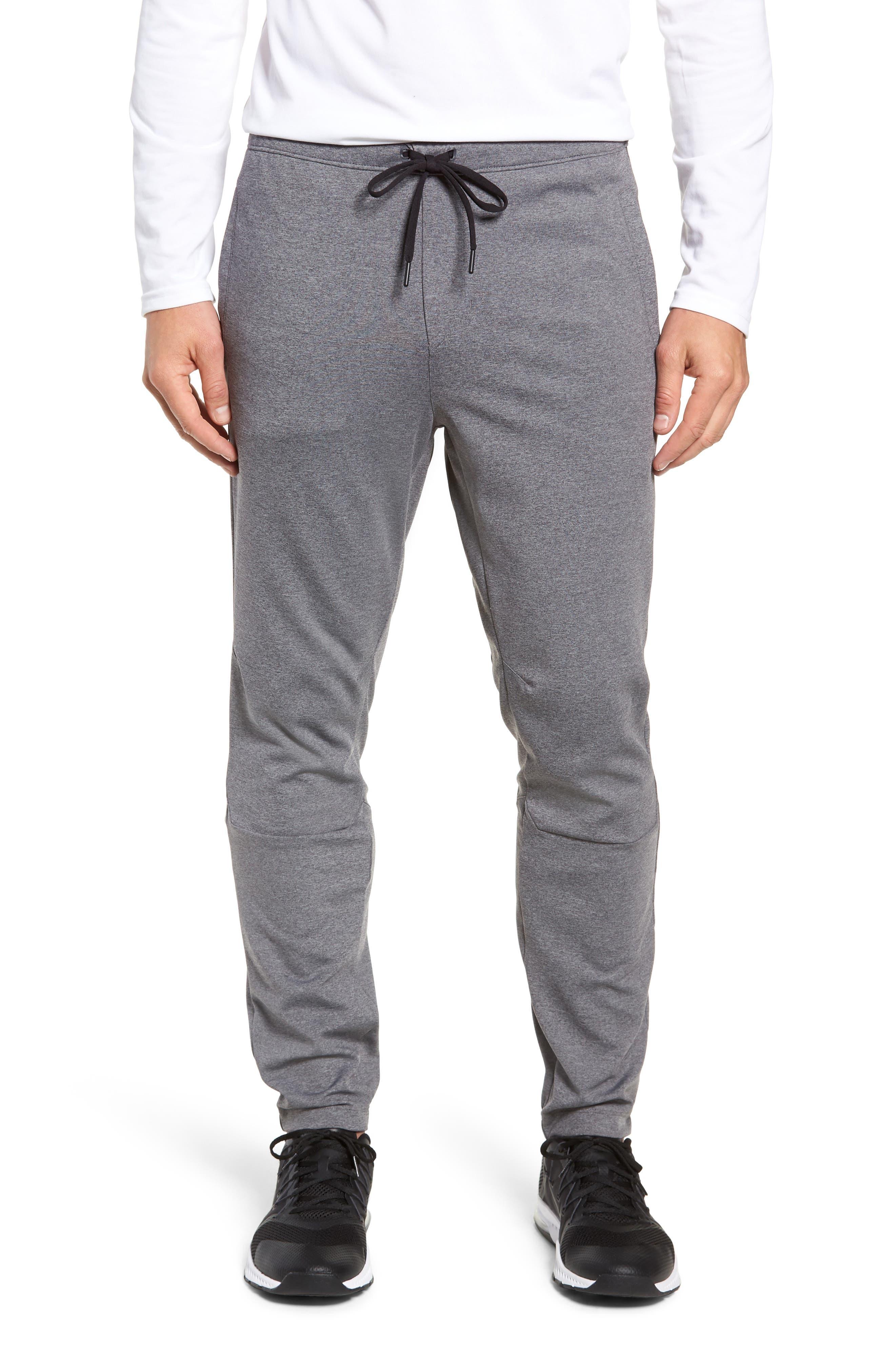 Rhone Tactel Nylon Sweatpants, Grey