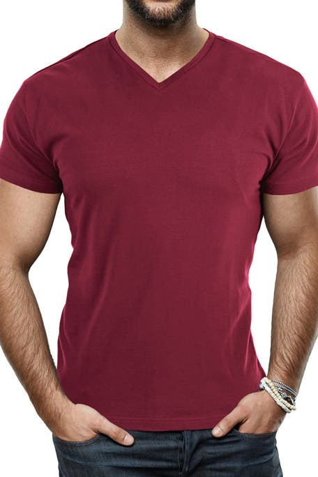 XRAY - Solid V-Neck Flex T-Shirt