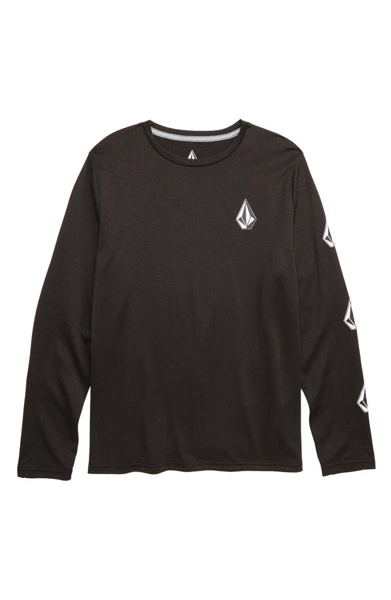 VOLCOM Deadly Stones Graphic T-Shirt, Main, color, BLACK