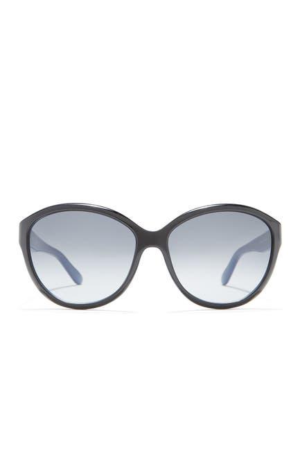 Image of Salvatore Ferragamo 58mm Round Sunglasses