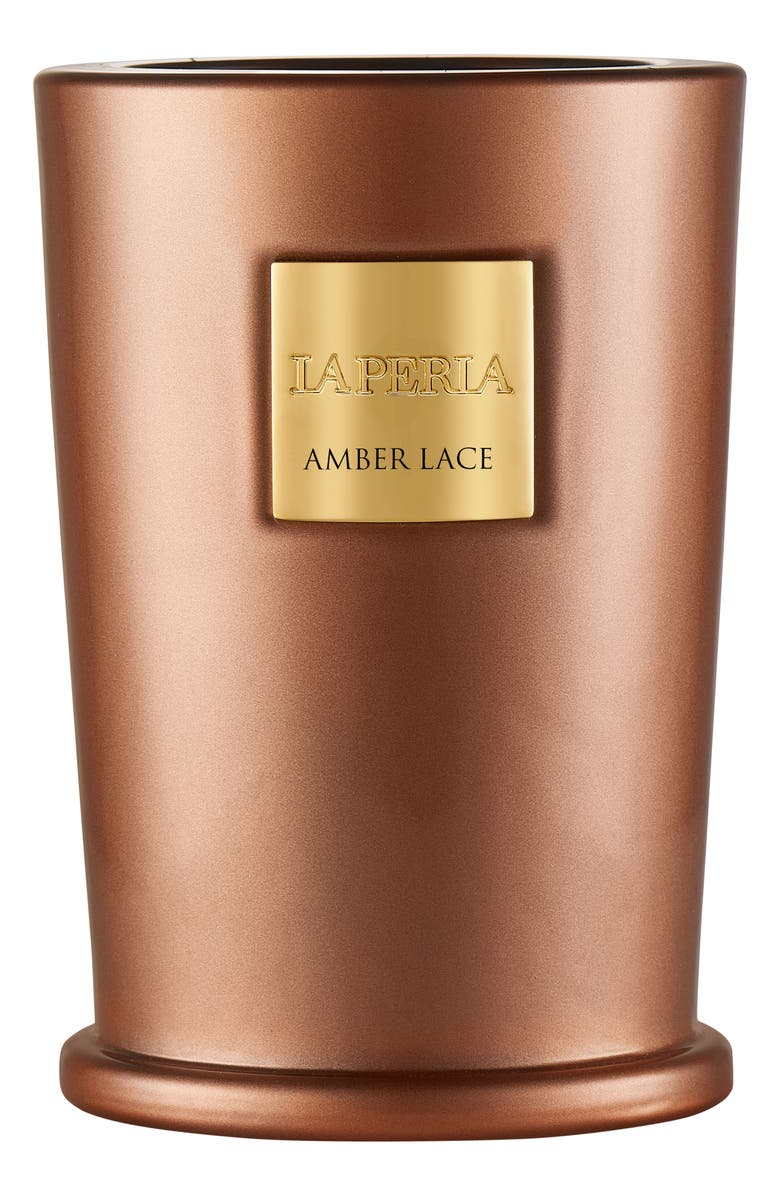 LA PERLA HOME Candle, Main, color, AMBER LACE