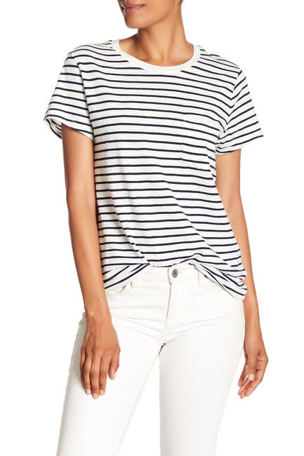 Image of Madewell Short Sleeve Stripe T-Shirt