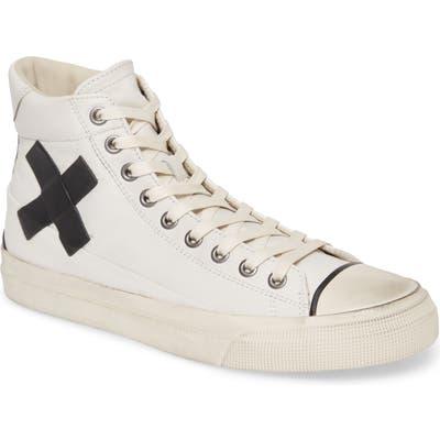 John Varvatos Star Usa Vulcanized X Sneaker, White