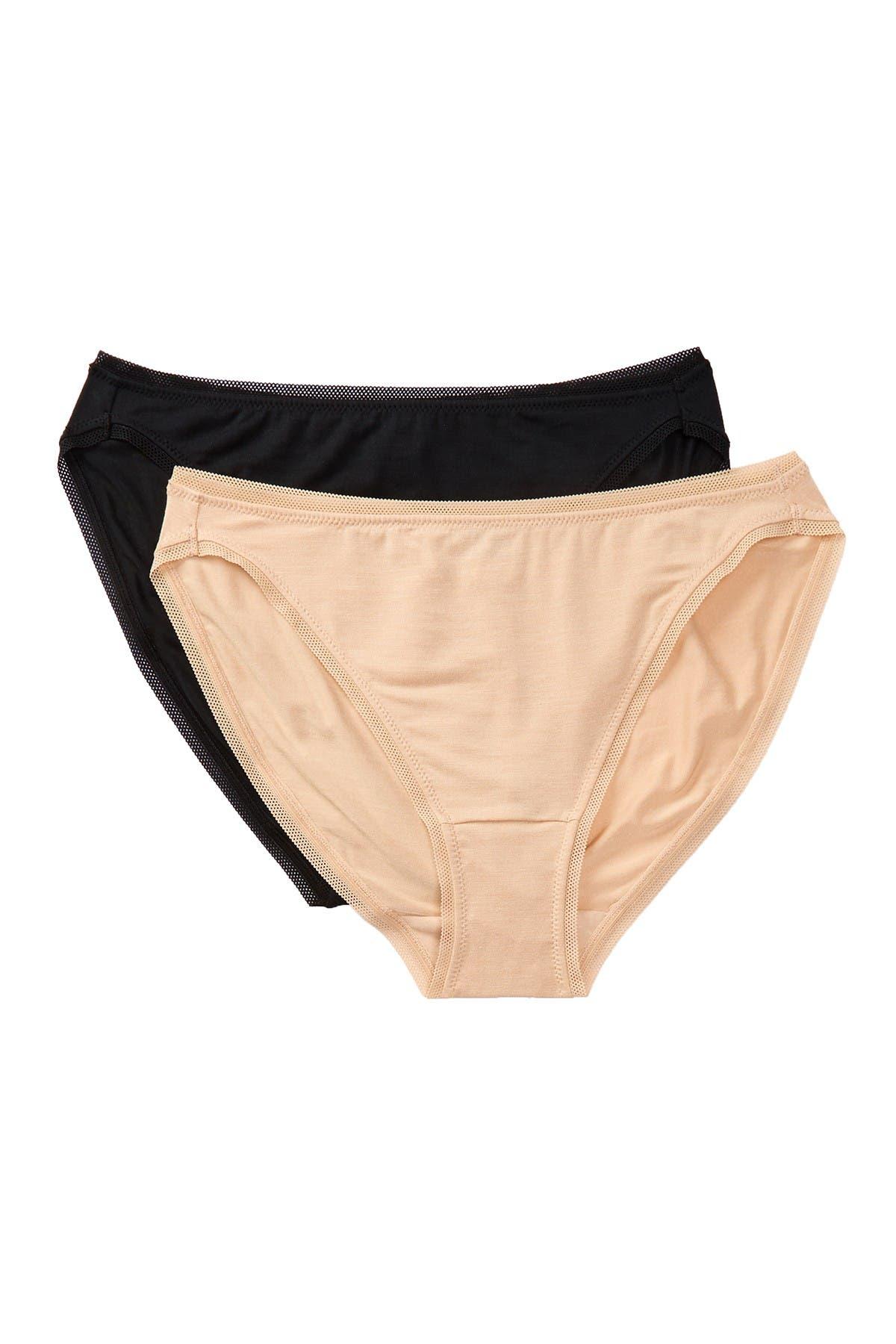 Image of Felina So-Smooth High Cut Panties - Pack of 2