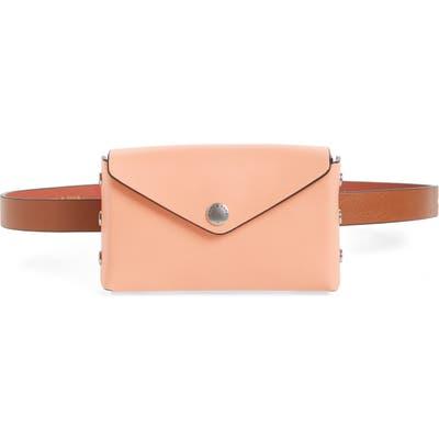 Rag & Bone Atlas Leather Belt Bag - Coral