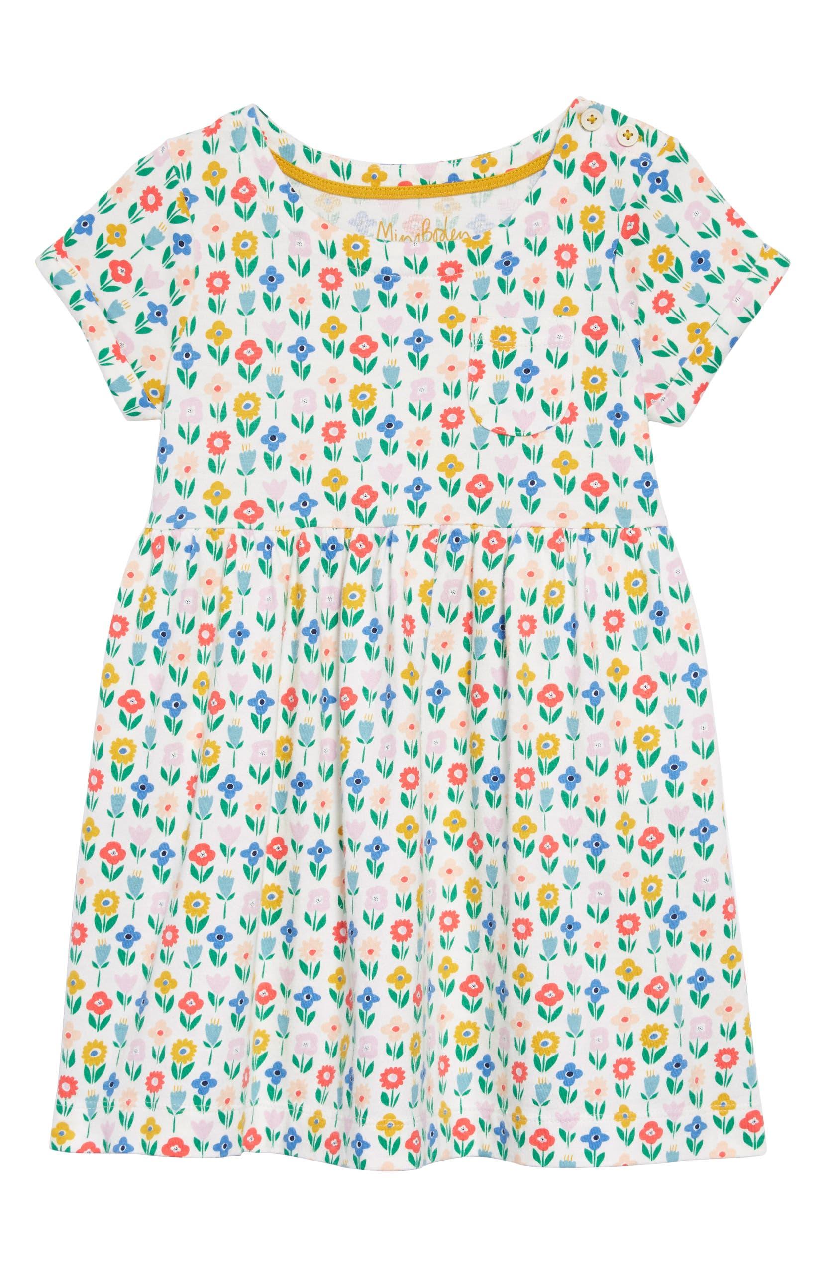 0554cfab808c Mini Boden Flower Patch Jersey Dress (Toddler Girls, Little Girls & Big  Girls) | Nordstrom