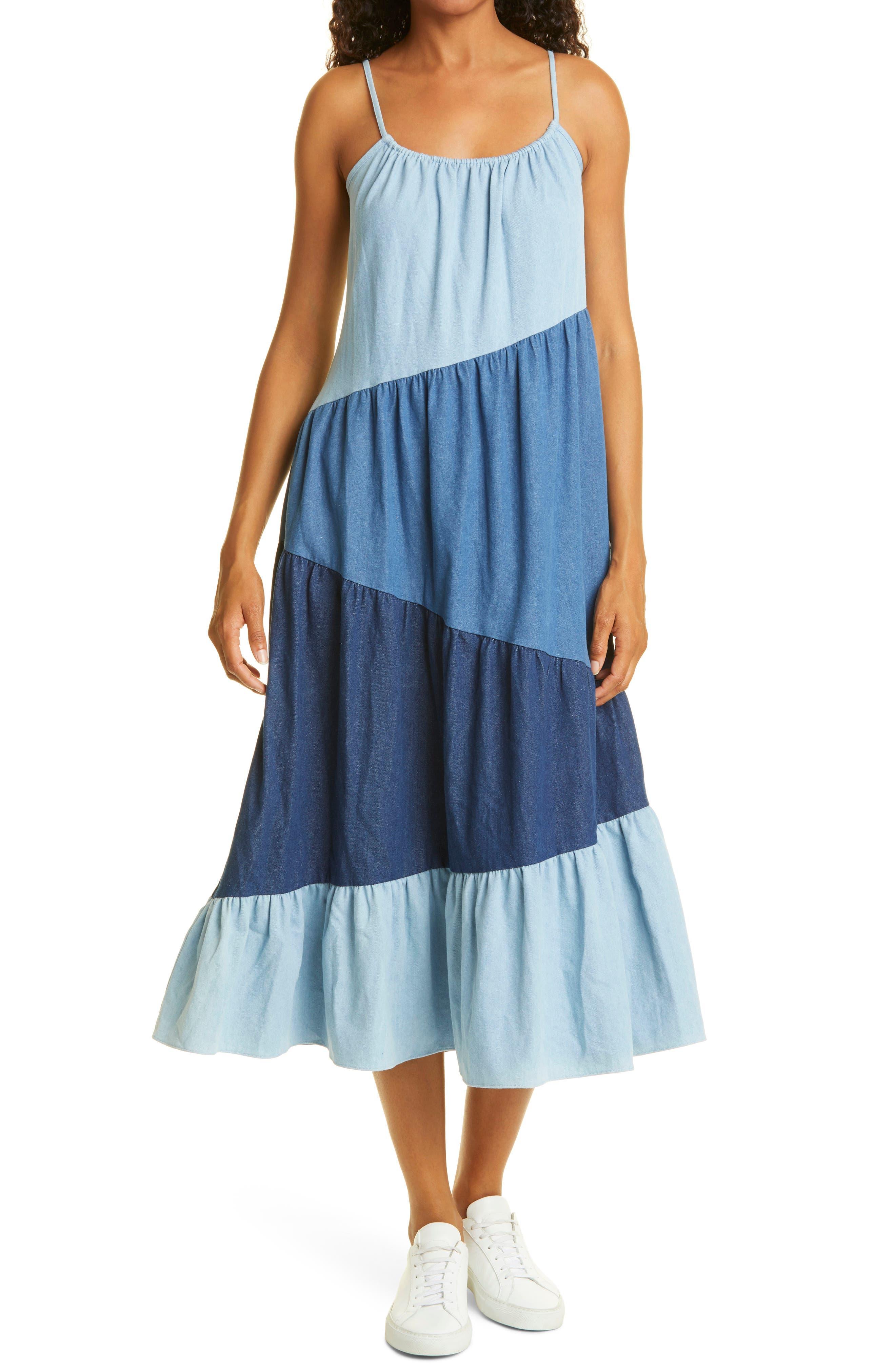 Reynolds Sleeveless Cotton Maxi Dress