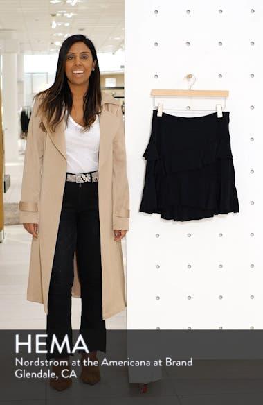 Tiered Ruffle High/Low Miniskirt, sales video thumbnail