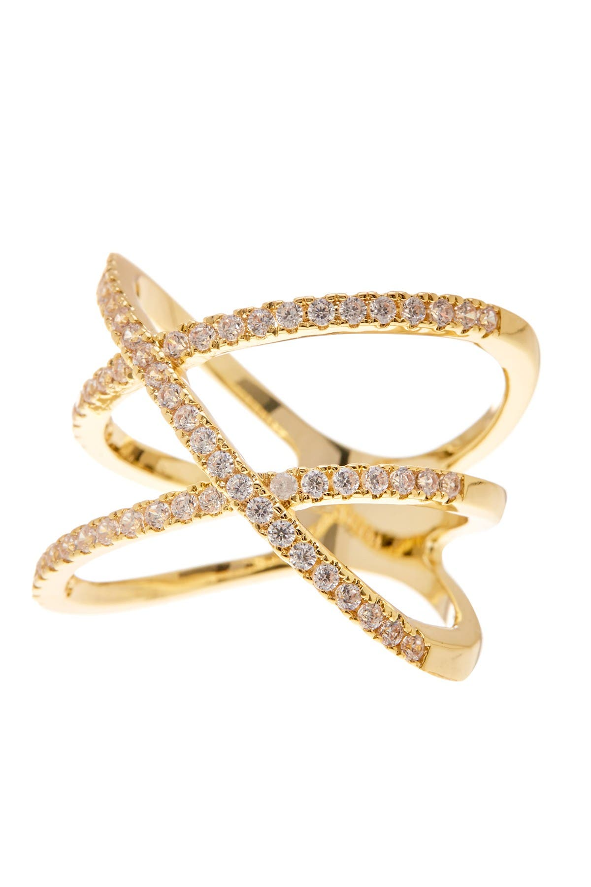 Image of Nordstrom Rack Double X Pave CZ Ring