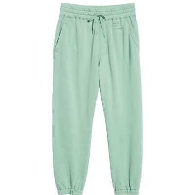 Entireworld French Terry Sweatpants, Green (Nordstrom Exclusive)