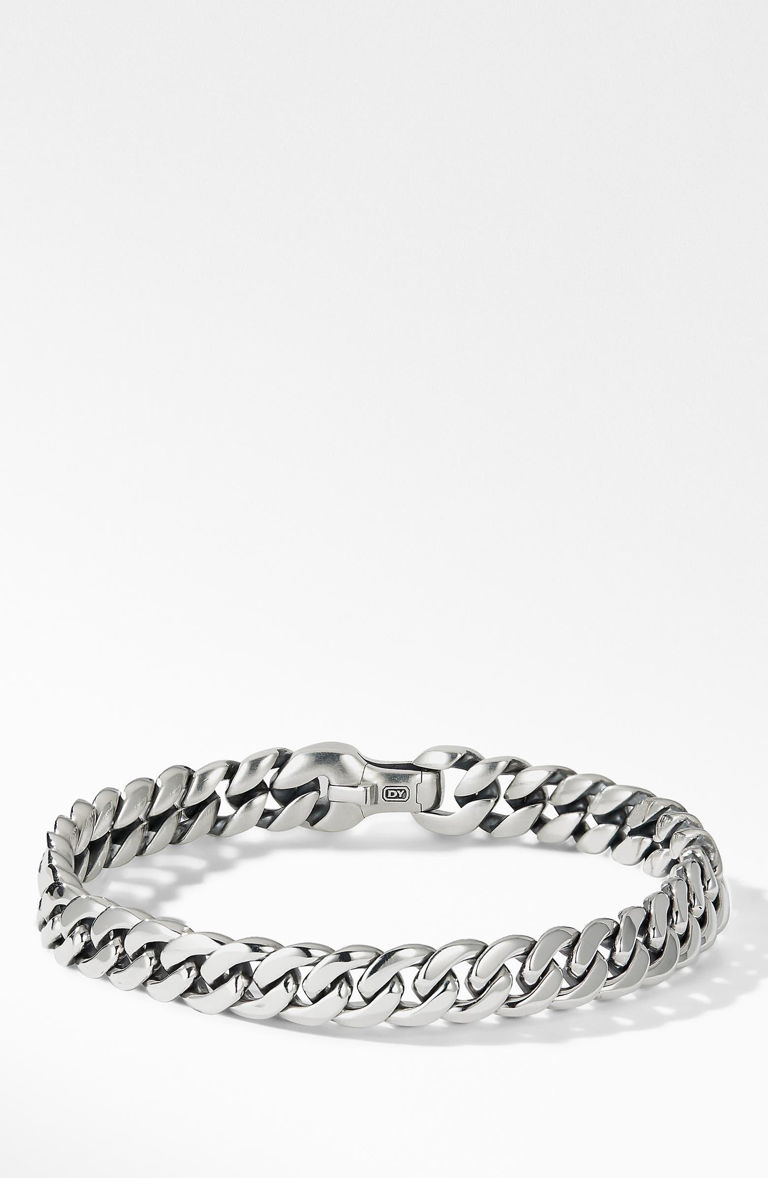 Curb Chain Bracelet, 8mm DAVID YURMAN