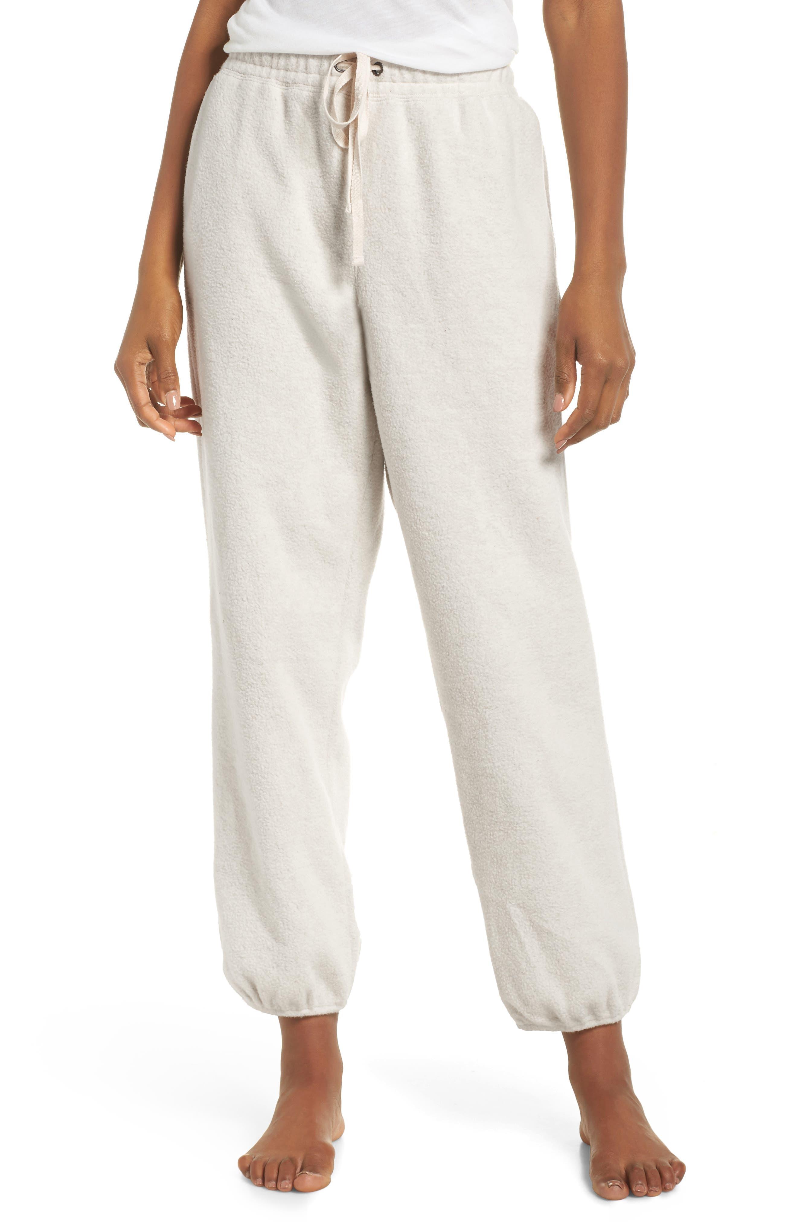 ,                             Fleece Pajama Sweatpants,                             Main thumbnail 11, color,                             030