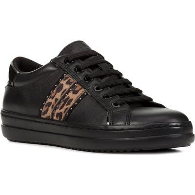 Geox Pontoise Sneaker, Black