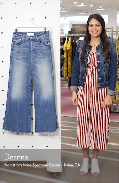 The Tomcat High Waist Roller Fray Jeans, sales video thumbnail