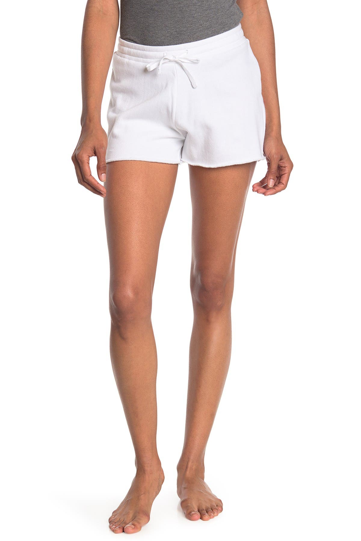 Image of Bottoms Out Drawstring Lounge Shorts