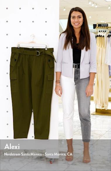 Sateen Stretch Cotton Cargo Pants, sales video thumbnail