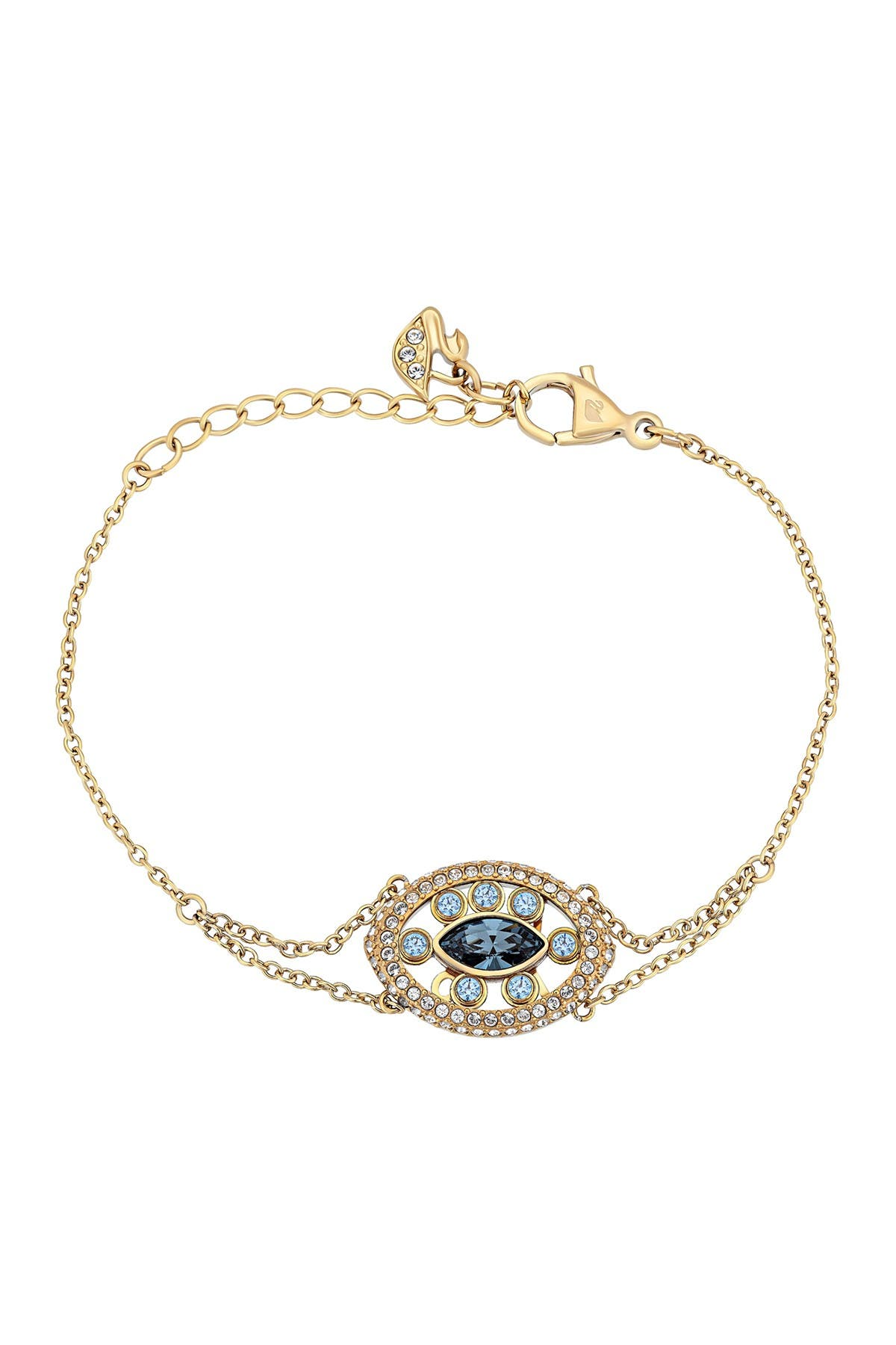 Image of Swarovski Admiration Swarovski Crystal Pendant Bracelet