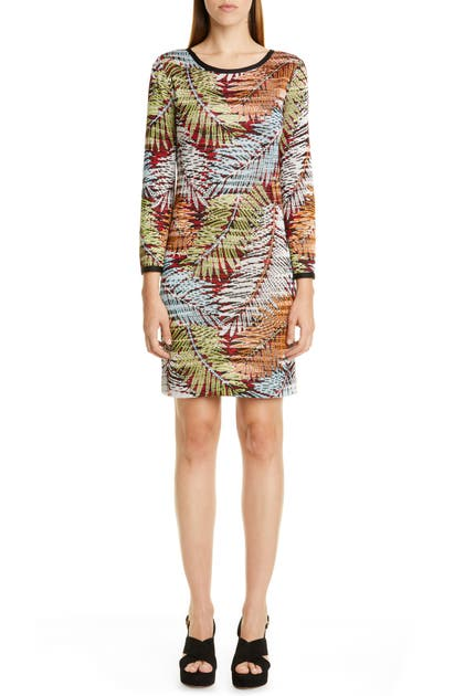 Missoni Dresses PALM LEAF PATTERN MINIDRESS