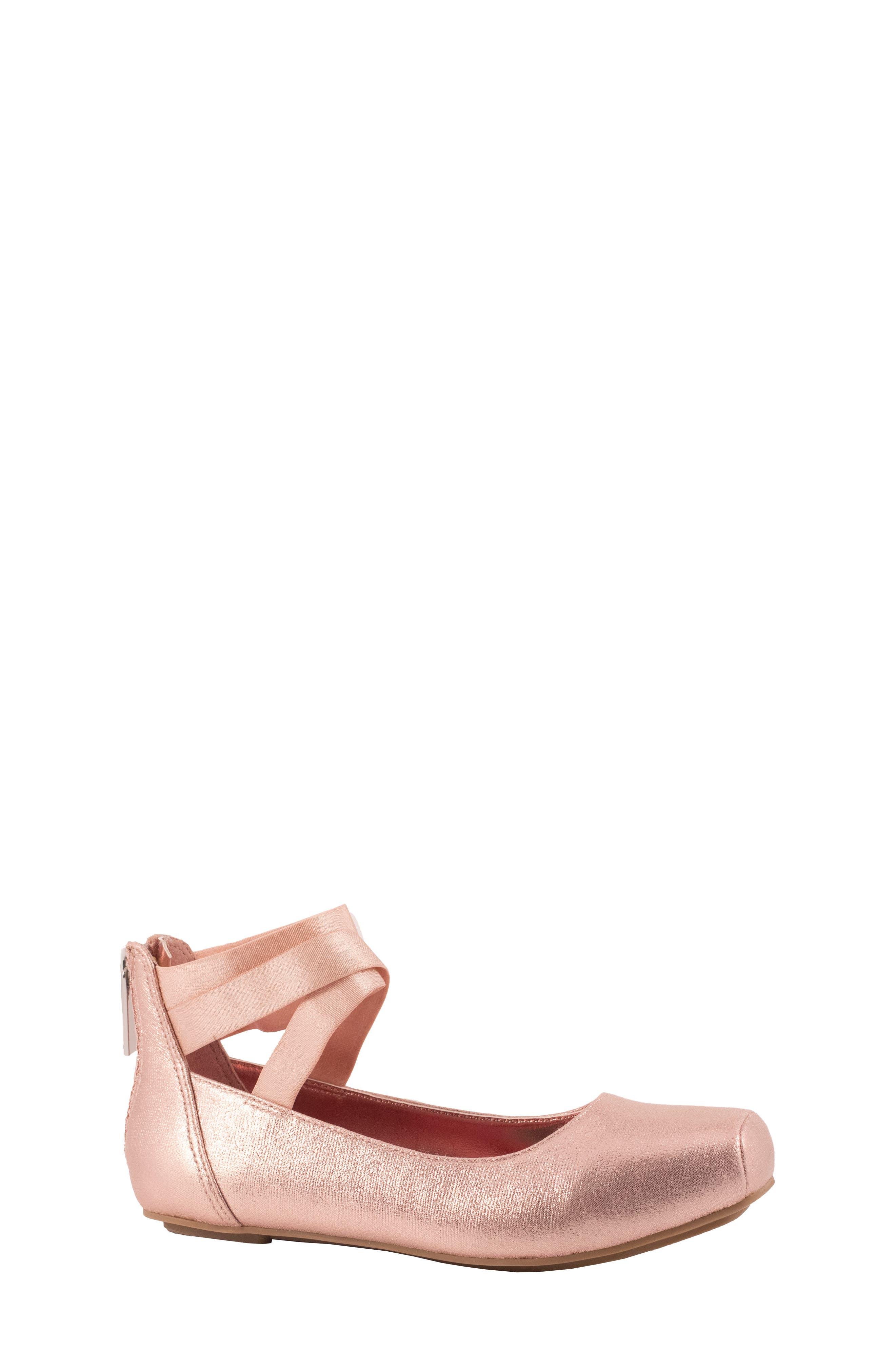 Hedley Ballet Flat, Main, color, BLUSH