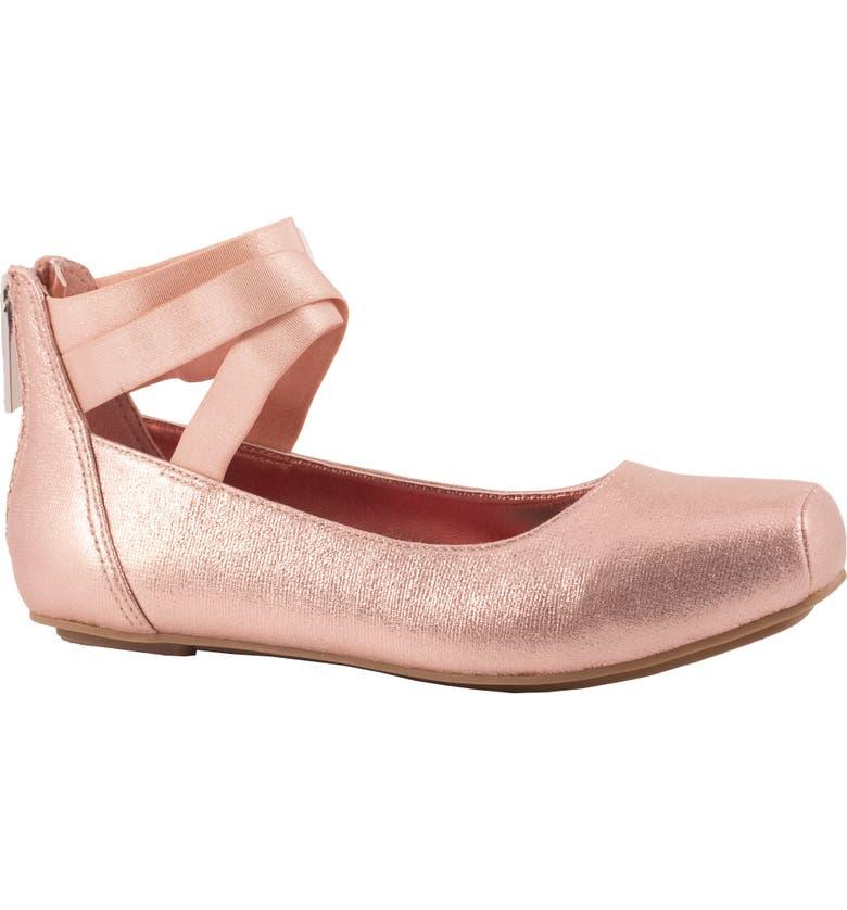 JESSICA SIMPSON Hedley Ballet Flat, Main, color, BLUSH