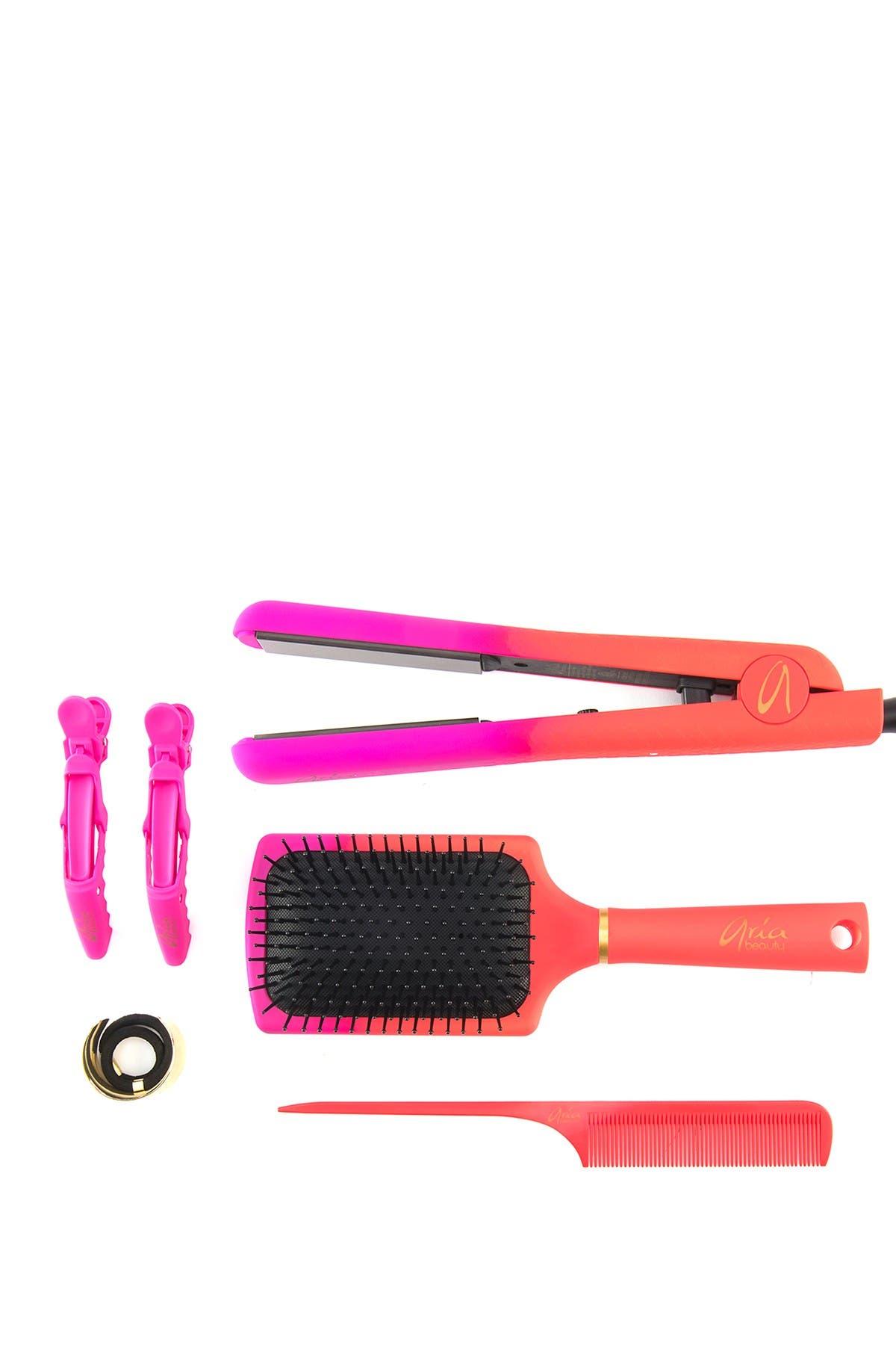 Image of ARIA Cosmo Super Glam Straightener 6-Piece Set