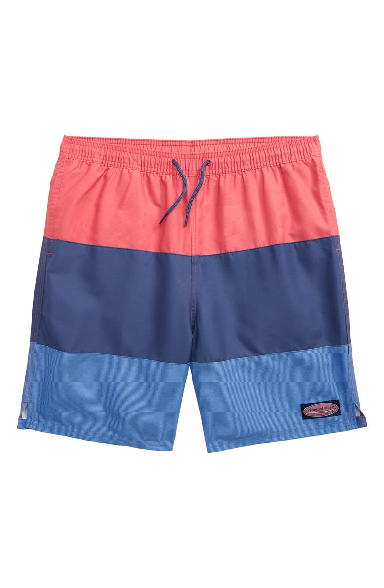 Vineyard Vines Colorblock Pieced Chappy Swim Trunks Toddler Boys Little Boys