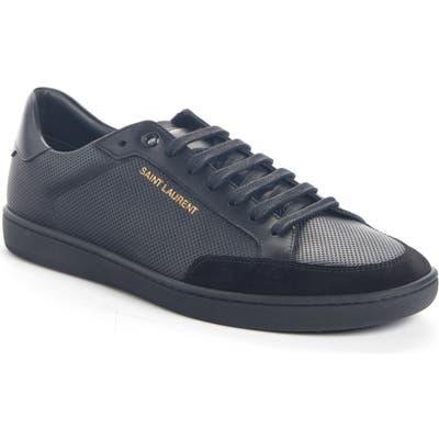 Saint Laurent Low Top Sneaker, Black