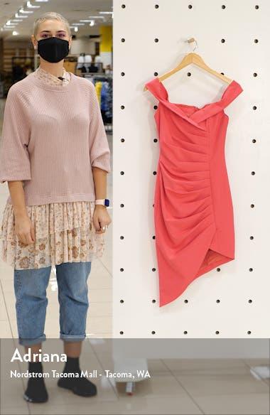 Bardot Pleat Front Dress, sales video thumbnail