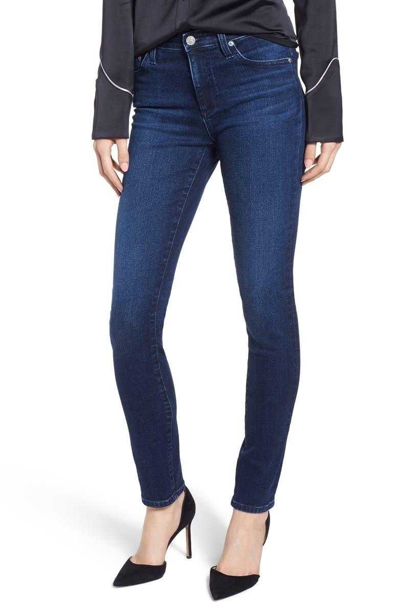 AG Prima Skinny Jeans, Main, color, 04 YEARS CELESTIAL