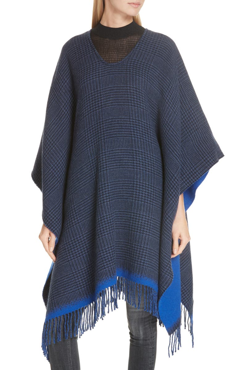 8505d81c1 rag & bone Double Face Wool Poncho   Nordstrom